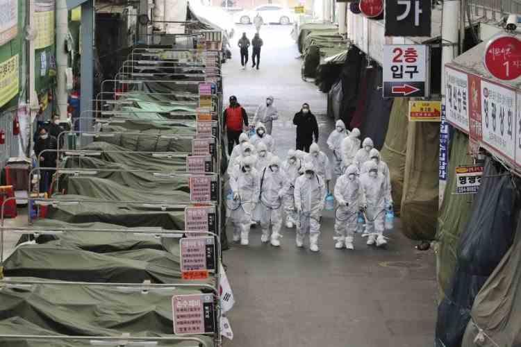 Sute de noi cazuri de coronavirus în Coreea de Sud