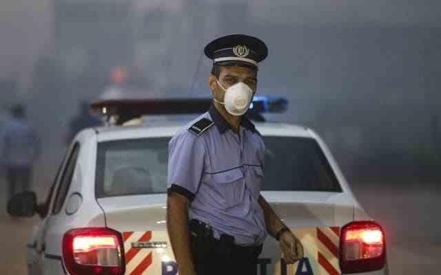 Poluare inexplicabilă în București, în noaptea de duminică spre luni