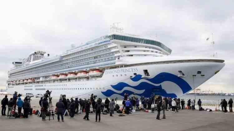 Românii cu coronavirus de pe nava Diamond Princess sunt în stare bună, în Japonia