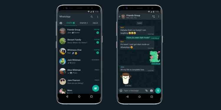 WhatsApp a lansat Dark Mode, disponibil pentru iOS şi Android
