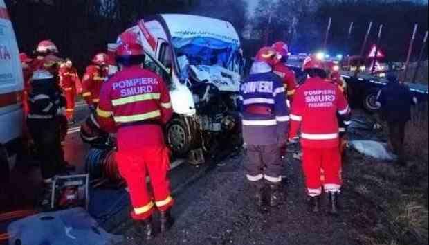 Accident grav pe DN1 - O persoană a murit pe loc