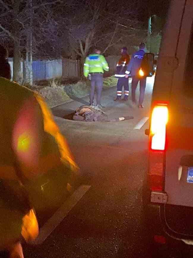Un şofer a lovit mortal un pieton și a fugit de la locul accidentului