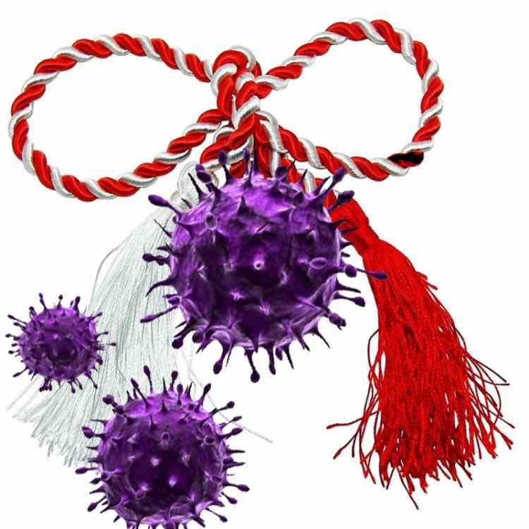 Un bărbat infectat cu coronavirus a împărțit mărțișoare la 120 de persoane