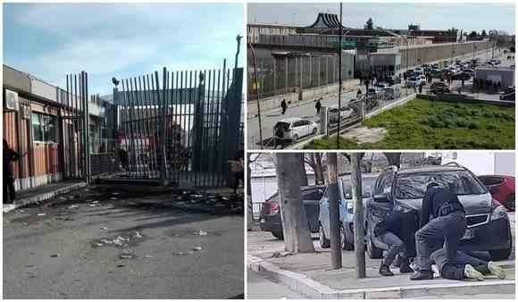 Român evadat dintr-o închisoare din Italia, căutat de zeci de poliţişti