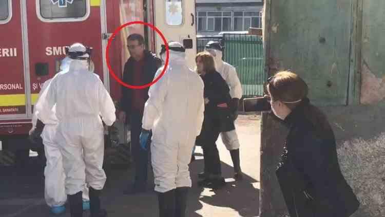 Senatorul Vergil Chițac, soția și asistentul său, confirmați cu COVID-19, duși fără izoletă la Spitalul de Boli Infecțioase din Constanța