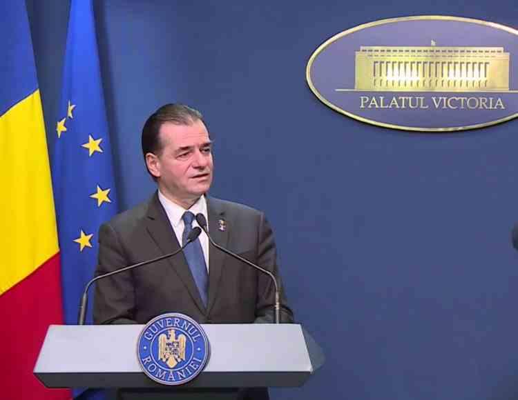 Ludovic Orban: Suntem gata să ne asumăm plata unei părți din dobânzi la achitarea ratelor către bănci