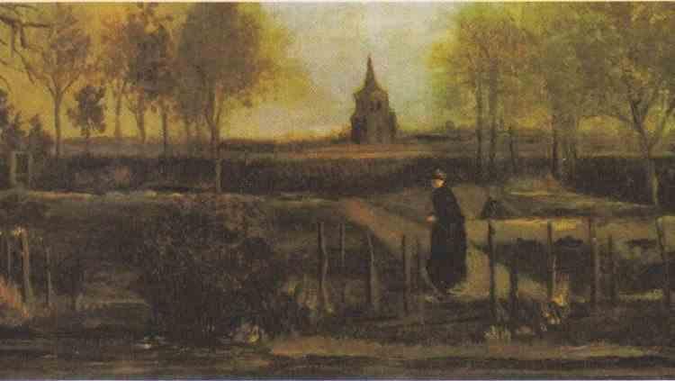 O pictură de Vincent van Gogh a fost furată dintr-un muzeu din Țările de Jos