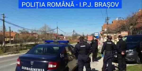 Jandarmi atacați de romi într-o localitate din Brașov - S-au întors recent din Germania și Anglia și au rămas fără mâncare