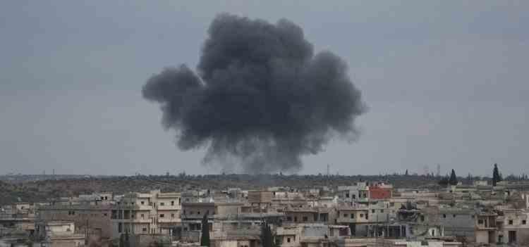 Nouă combatanți sireni au fost uciși într-un raid aerian la Palmyra