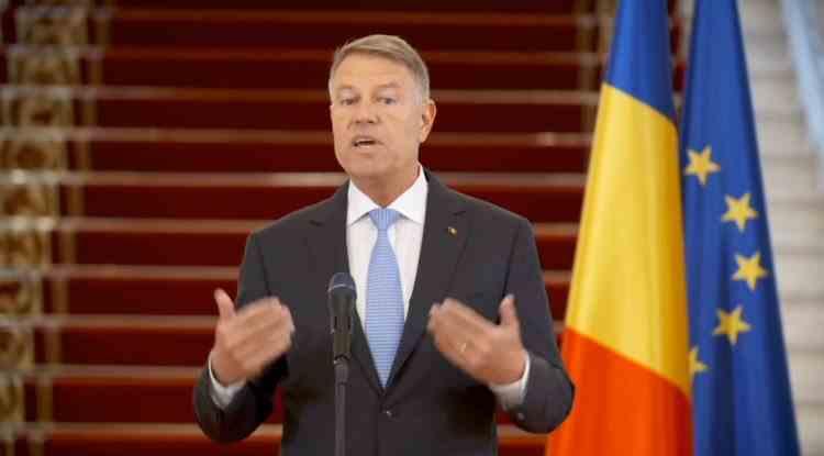 Președintele Klaus Iohannis a făcut declarații de presă legate de legea pentru Ținutul Secuiesc