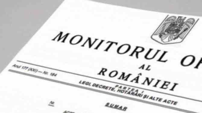 Hotărârea privind starea de alertă a fost publicată în Monitorul Oficial