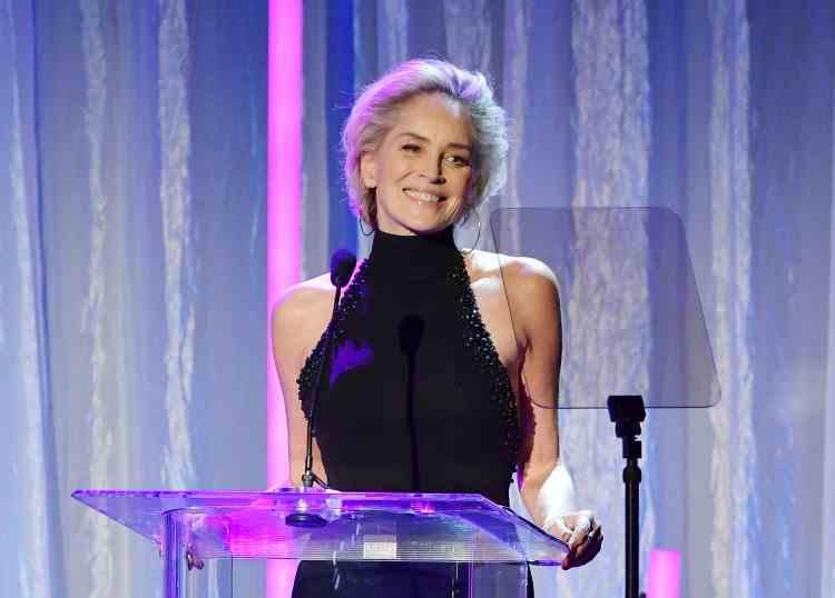 Sharon Stone, lovită de trăsnet