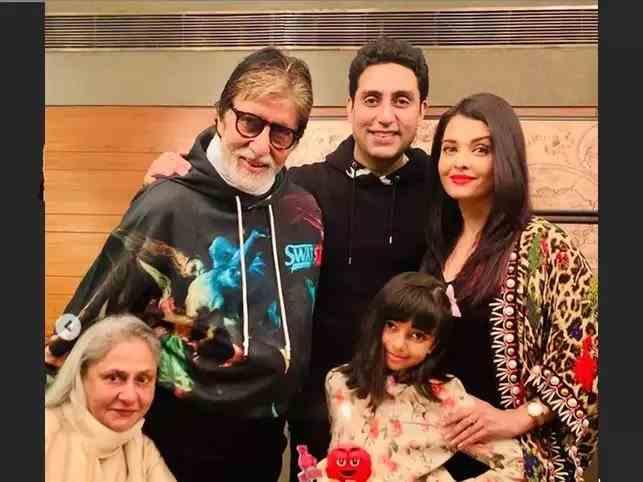 Focar de COVID-19 în familia actriței Aishwarya Rai Bachchan