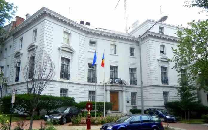 Un membru al Ambasadei României în SUA a fost depistat pozitiv cu COVID-19
