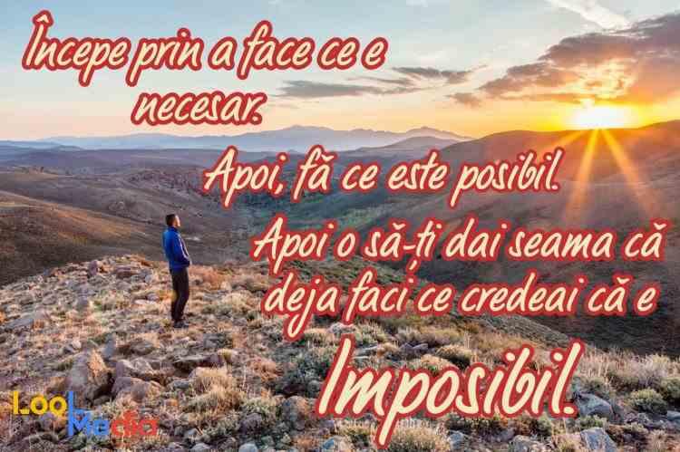 Atinge imposibilul