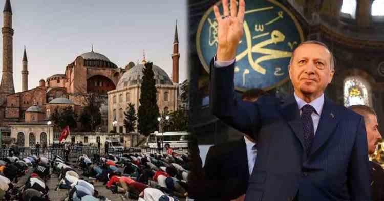 Începând de astăzi, Hagia Sofia din Istanbul va redeveni moschee