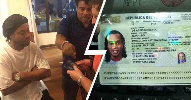 Ronaldinho poate fi eliberat curând - El a fost reținut pentru folosirea pașapoartelor false