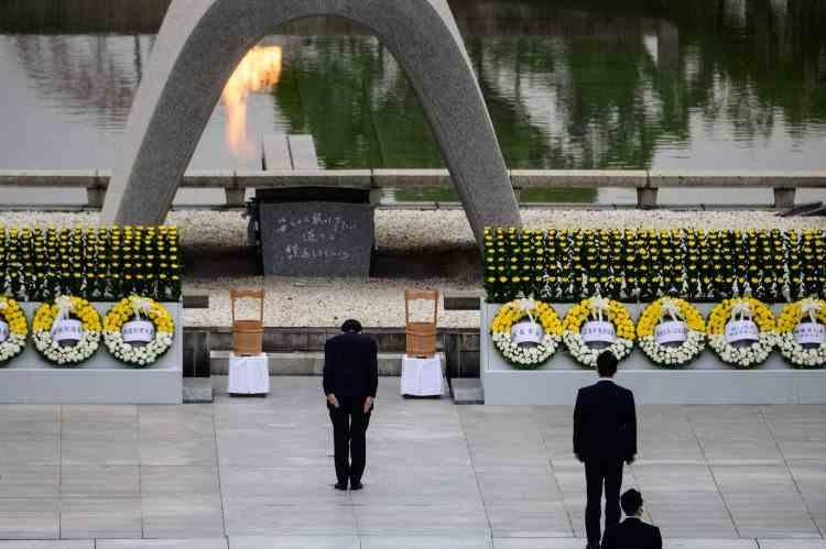 75 de ani de la atacul nuclear de la Hiroshima, Nagasaki