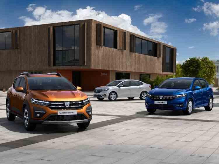 Dacia a dezvăluit noile modele Logan, Sandero și Sandero Stepway