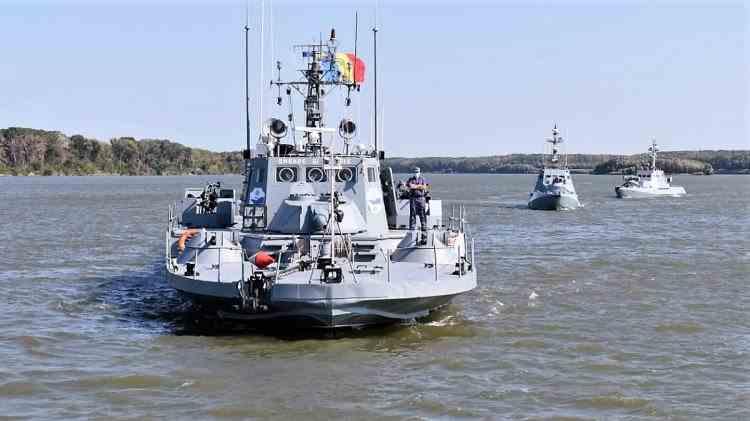 Peste 300 de militari români participă la un amplu exercițiu organizat de Forțele Navale Române
