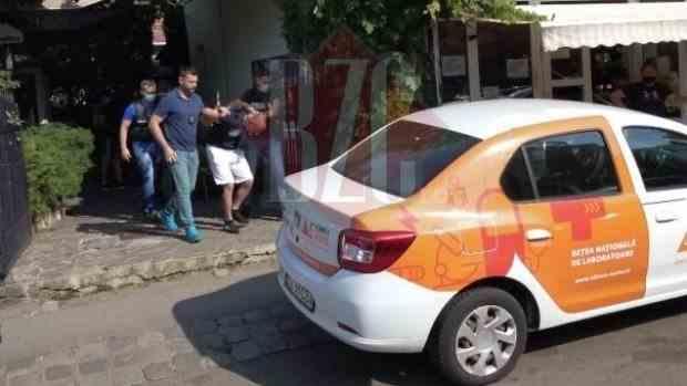 Un interlop periculos a fost săltat de mascați de pe o terasă din Cluj-Napoca