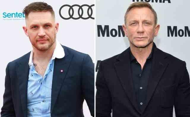 Tom Hardy ar urma să îl înlocuiască pe Daniel Craig pentru rolul lui James Bond