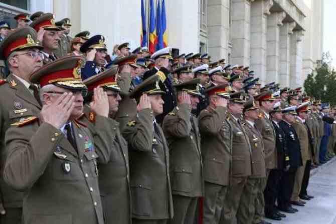 Modificarea legii pensiilor pentru militari este susținută de Ministerul Apărării