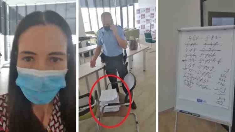 Poliția a intervenit și o persoană a fost dusă la audieri după ce Clotilde Armand a acuzat o tentativă de fraudă a alegerilor la Sectorul 1