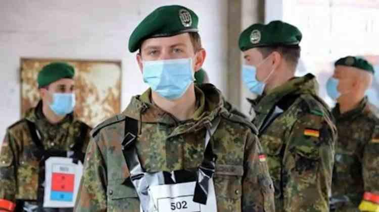 Germania mobilizează armata după ce numărul cazurilor de COVID-19 a crescut alarmant