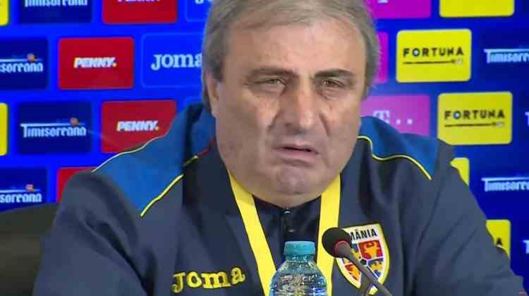 Mihai Stoichiţă l-a înjurat pe Adrian Mutu la conferinţa de presă a României U21