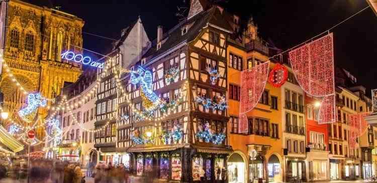 Târgul de Crăciun de la Strasbourg a fost anulat - Măsura a mai fost luată doar în timpul războiului