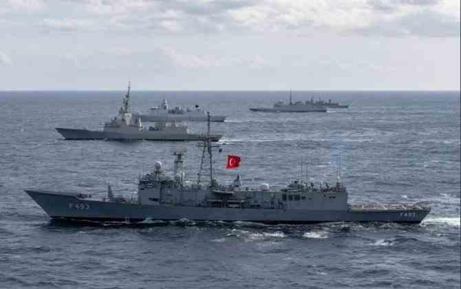 Turcia și Grecia au anulat exercițiile militare din Marea Mediterană