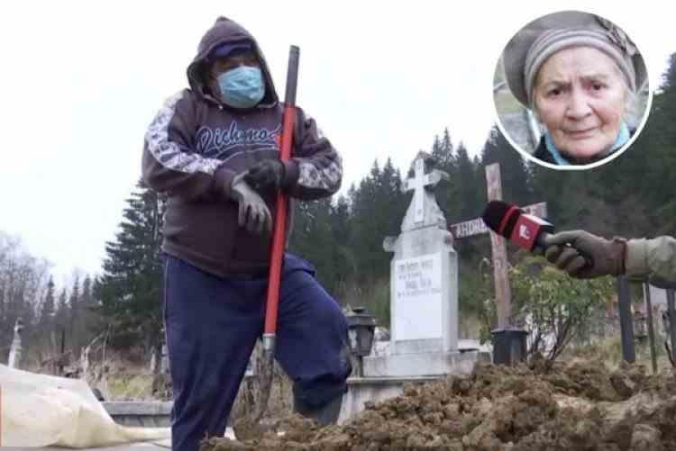 Gropari anunțați în timp ce săpau o groapă în cimitir că moarta este vie