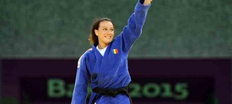 Andreea Chiţu a obținut medalia de argint la Campionatul European de judo