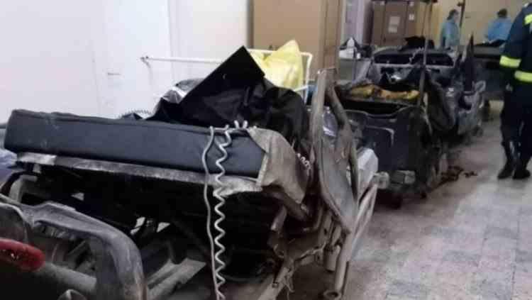 Numărul deceselor după incendiul de la Spitalul Județean din Piatra Neamț a ajuns la 14 - Încă doi pacienți au murit la spitalul Lețcani