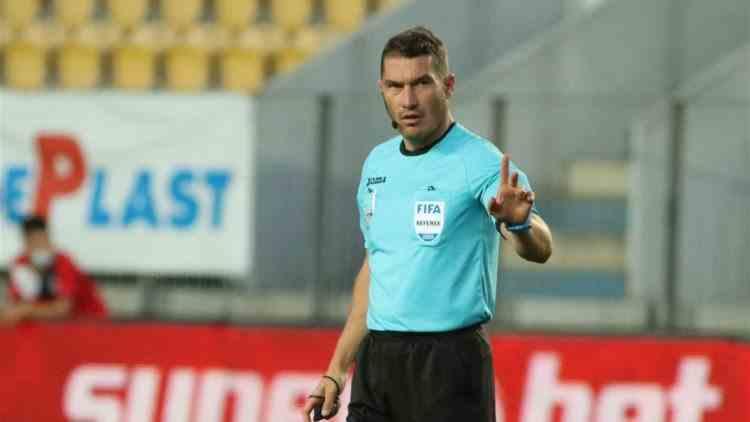 Arbitrul Istvan Kovacs a aflat că e infectat cu SARS-CoV-2 cu 10 minute înainte de meci
