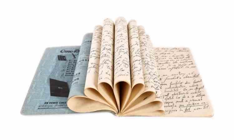 Manuscrisul Amurgul Gândurilor de Emil Cioran a fost vândut cu 19000 de euro la o licitație