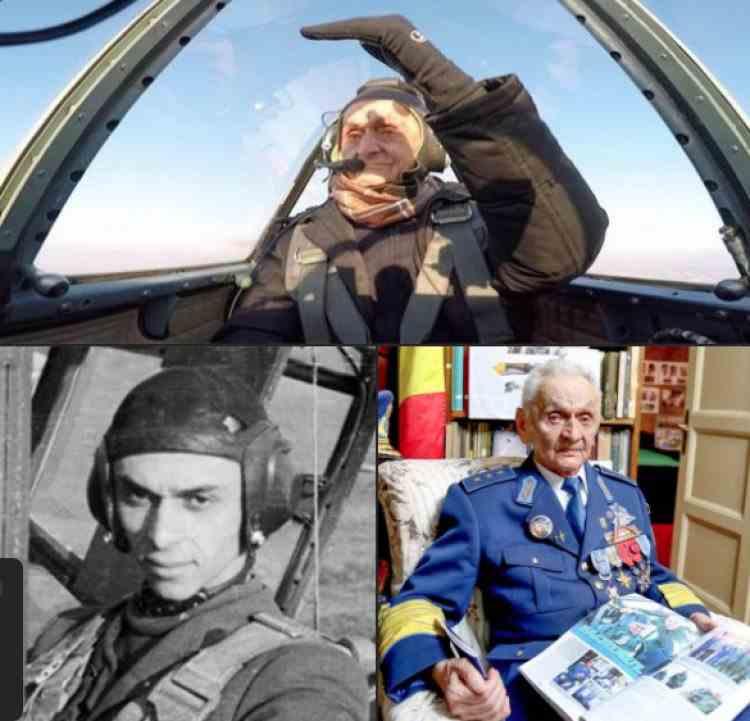 Veteranii Armatei României - Singurul pilot rămas în viață care a participat la cel de-Al Doilea Război Mondial