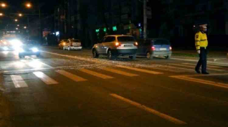 Un șofer drogat a lovit un pieton în Focșani și a părăsit locul accidentului