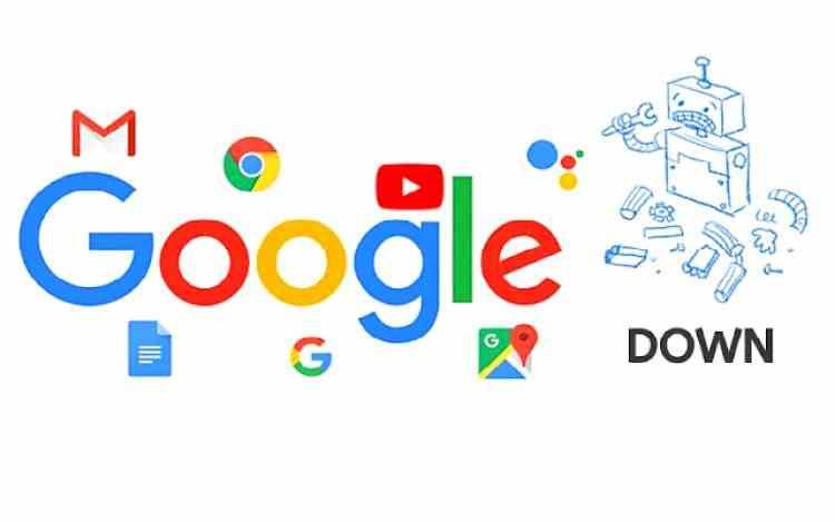 Mai multe servicii Google au picat luni