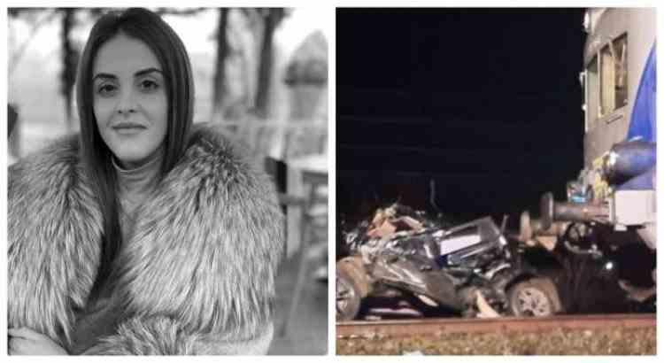 Fotbalista Alice Cociuba a murit la doar 21 de ani după ce mașina în care se afla a fost distrusă de tren