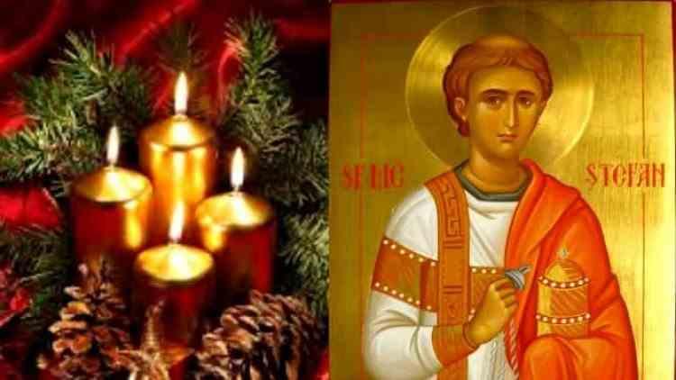 Peste 460000 de români poartă numele sfântului Ștefan - Obiceiuri și tradiții în a treia zi de Crăciun