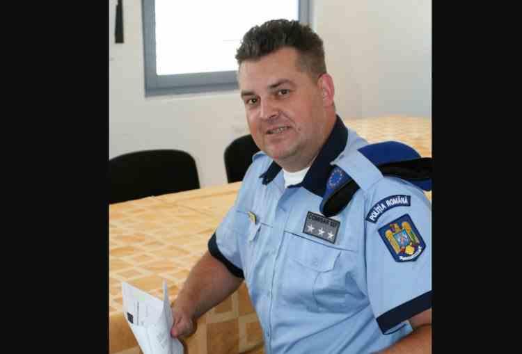 A murit comisarul șef Adrian Apostol, unul dintre cei mai apreciați ofițeri de poliție din Vrancea