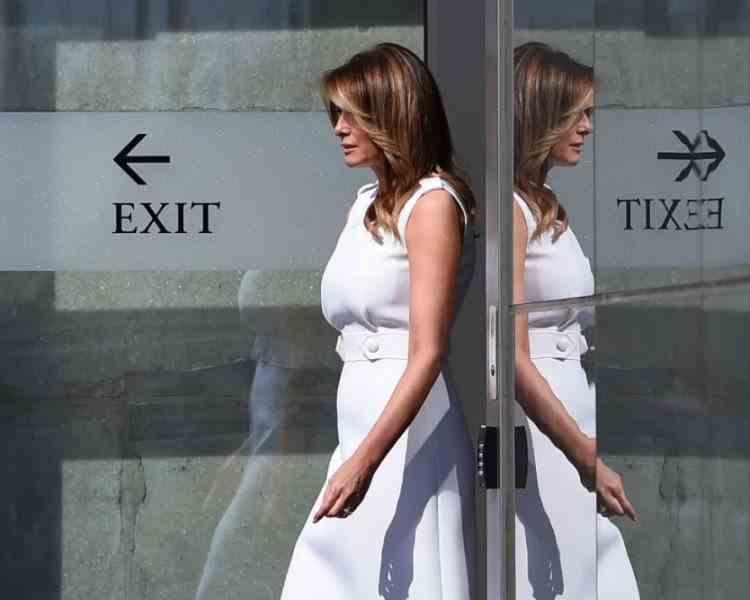 Ultimul mesaj transmis de Melania Trump în calitate de Primă Doamnă a Statelor Unite ale Americii