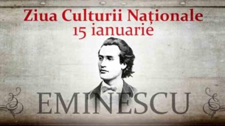 Ziua Culturii Naționale - 171 de ani de la nașterea lui Mihai Eminescu