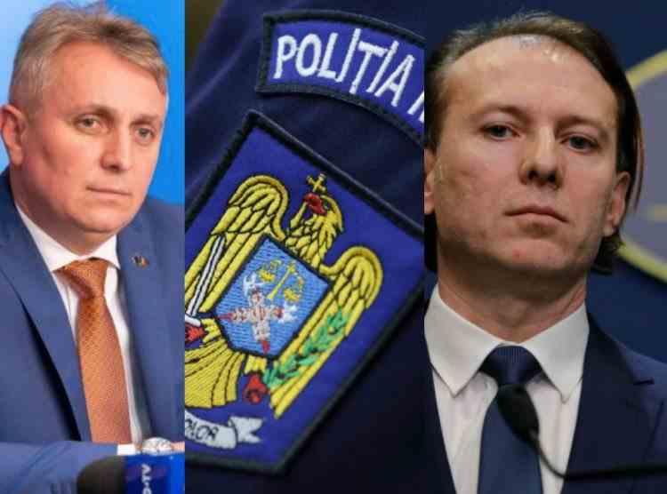 Promisiuni fără acoperire - Ministrul de Interne a făcut promisiuni sindicaliștilor din Poliție fără a se consulta cu Premierul Cîțu
