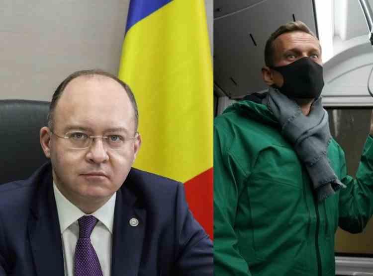 MAE - Arestarea lui Navalnîi, după otrăvire, este inacceptabilă