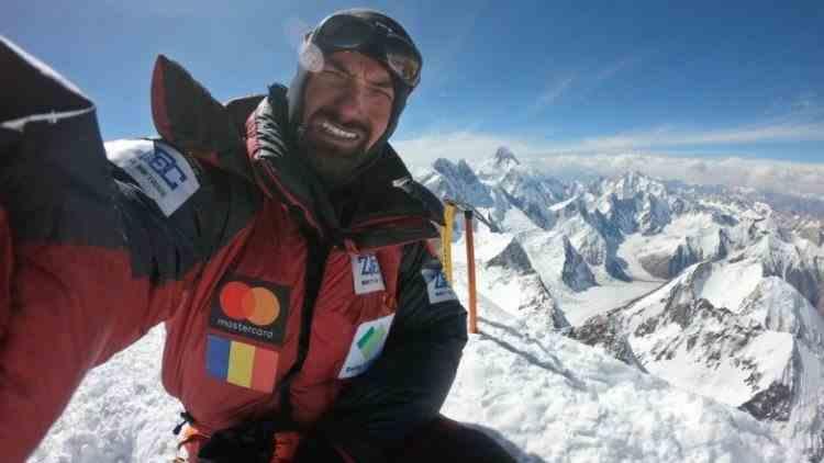 Alpinistul Alex Găvan a renunțat pentru moment la ascensiunea pe K2
