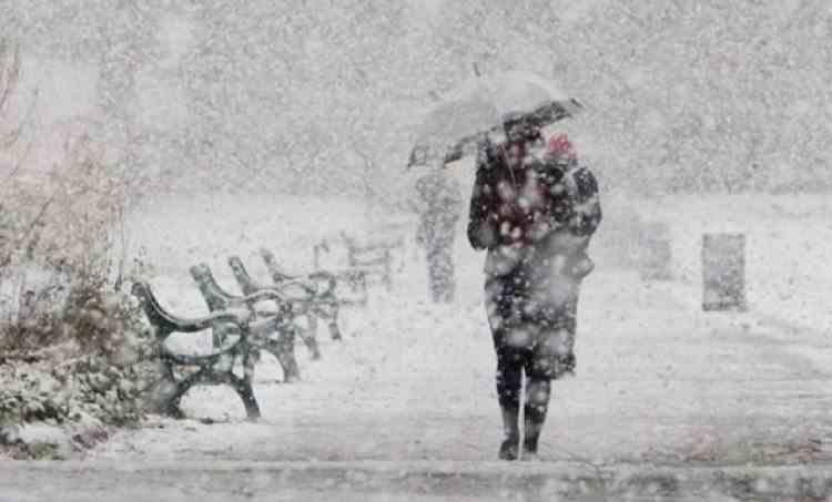 Avertizare ANM - Alertă de ninsori abundente în Bucureşti şi opt judeţe