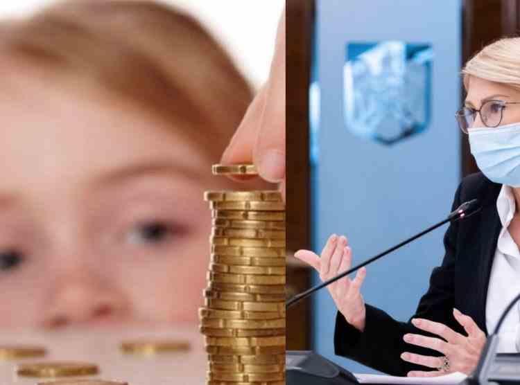 Ministrul Muncii - Copiii vor primi alocațiile mărite cu 20 la sută începând din februarie